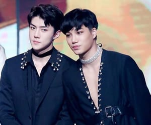 exo, kai, and sehun image