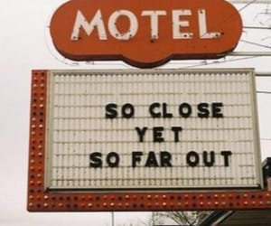 50s, aesthetic, and motel image