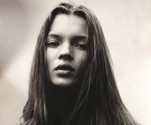 and, black, and kate moss image