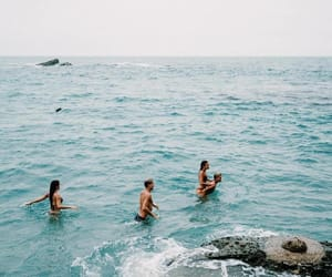 summer, ocean, and friends image