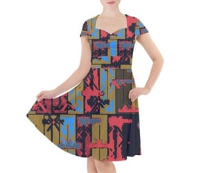 abstract, dress, and fashion image