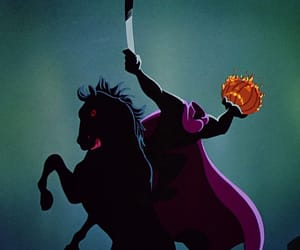 cat, headless horseman, and disney image