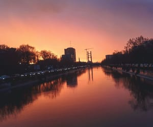 bucharest, river, and romania image