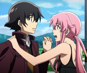 anime, mirai nikki, and future diary image