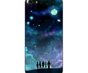 phone cases and voltron in space nebula image