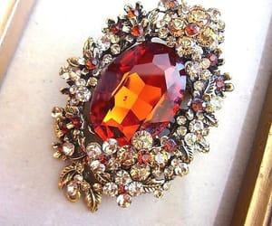 etsy, floral pendant, and renaissance fair image