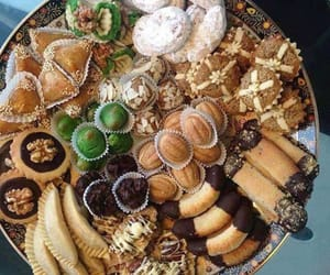 arabic, biscuits, and eid image