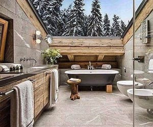 bathroom, color inspiration, and nature image
