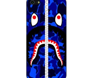 phone cases, iphone 5 5s se case, and bape shark image