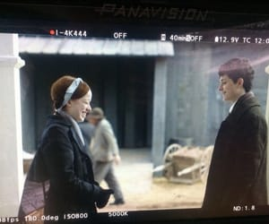 anne, e, and behind the scenes image