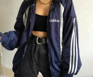 adidas, blue, and cool image