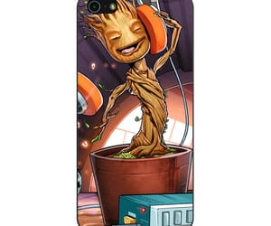 phone cases, iphone 5 5s se case, and dancing baby groot image
