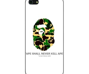 phone cases, iphone 5 5s se case, and bape ape camo image