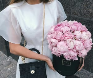 elegance, fashion, and peony image