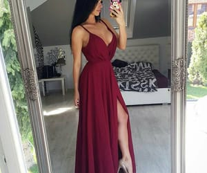 luxury, body, and dress image