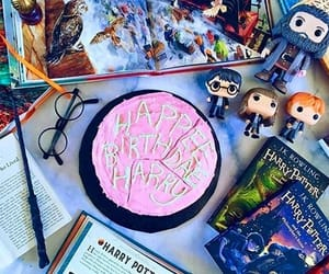 cake, harry potter, and birthday image
