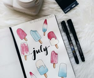 inspiration, journaling, and july image