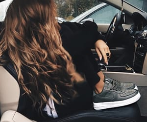 black, car, and chic image