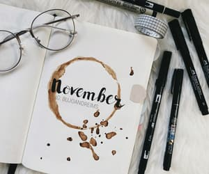 coffee, inspo, and journaling image