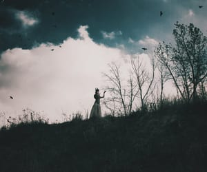 dark, landscapes, and photography image