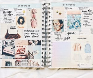 aesthetic, calendar, and Collage image