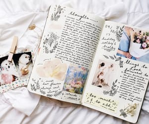 journal, aesthetic, and study image