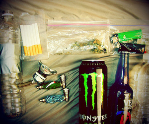 monster, drugs, and weed image