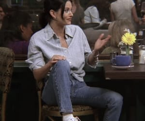 Courteney Cox, phoebe buffay, and style image
