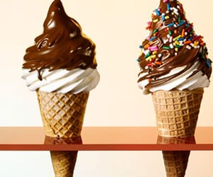 chocolate, ice cream, and chispas image