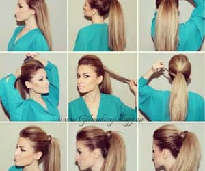 beuty, diy, and fashion hair image