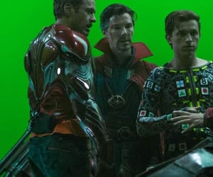Marvel, spiderman, and iron man image
