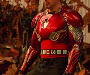 handsome, iron man, and Marvel image