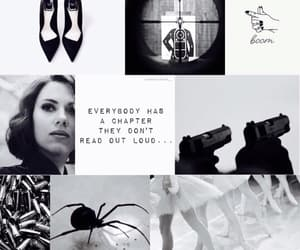 aesthetic, black widow, and character image