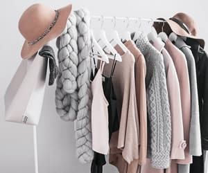 clothes, interior, and rack image