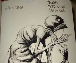 depression, art, and disorder image