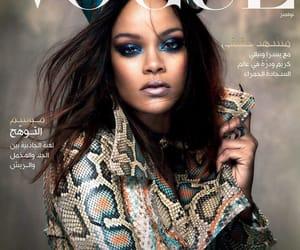 rihanna, vogue, and magazine image