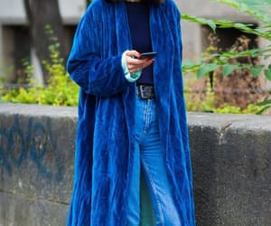 blue, clothes, and outfit image