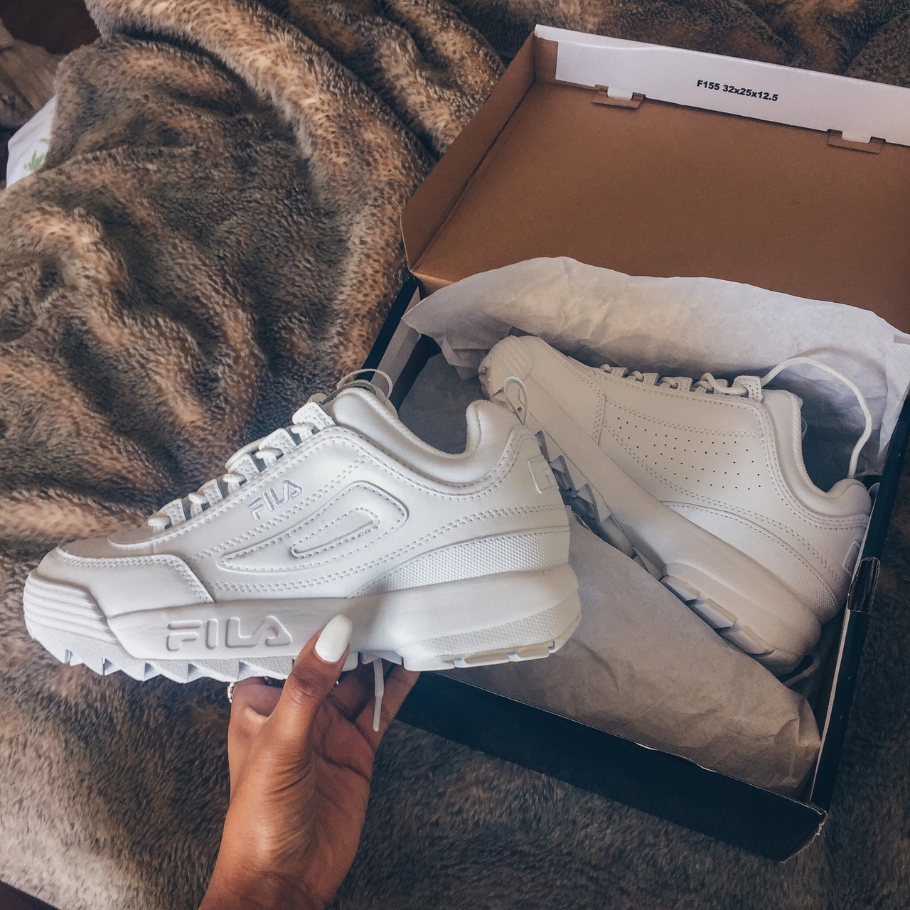 Fila Disruptor II shared by MOLLY on We Heart It