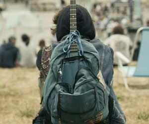 guitar, boy, and music image