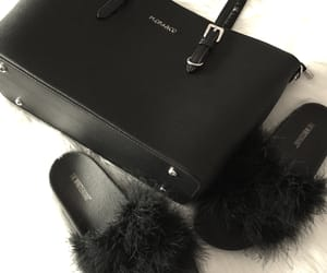accessoires, bag, and black image
