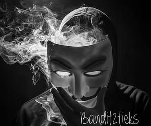 anonymous, masque, and mystere image