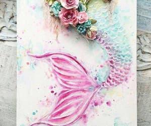 mermaid and shells image