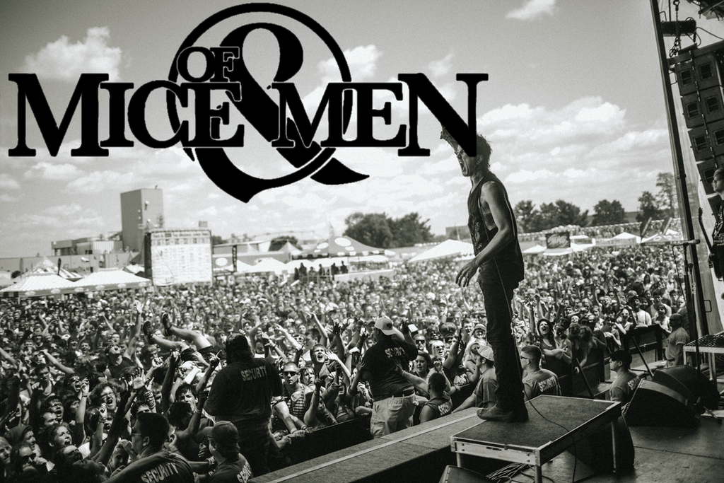anxiety, music festival, and of mice and men image