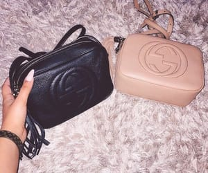 bag, black, and luxury image