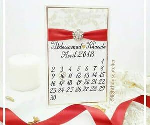 calendar, photography, and wedding stationery image