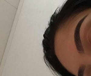 thick brows, brows on fleek, and glam makeup image