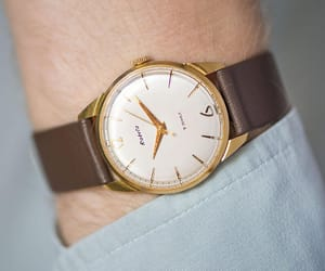 etsy, mens watch, and gold men watch image