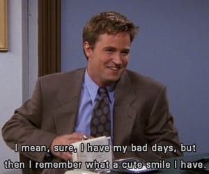 90s, series, and chandler bing image