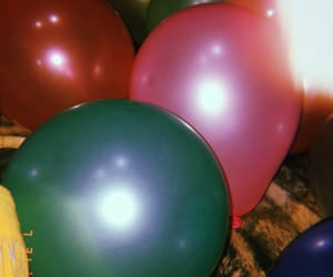 balloons, colors, and green image