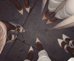 chic, Nude, and white image